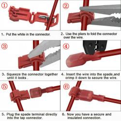 Kombinovana kablovska spojnica crvena