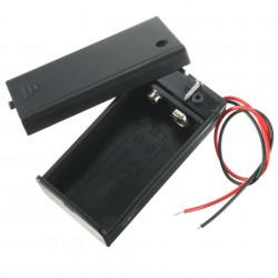 Kućište za bateriju 9V (6LF22) sa prekidačem