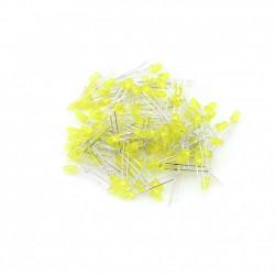 LED dioda 3mm žuta difuzna