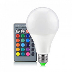 LED sijalica E27 15W RGB sa daljinskim upravljačem