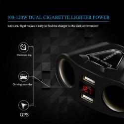 Multifunkcionalni USB punjač za auto V2.0