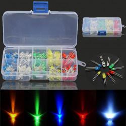 Set LED dioda 3mm i 5mm 200 komada