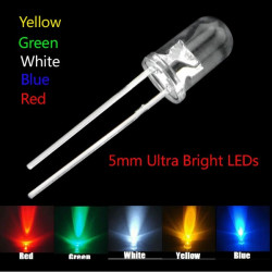 Set LED dioda 5mm ultra bright-100 komada