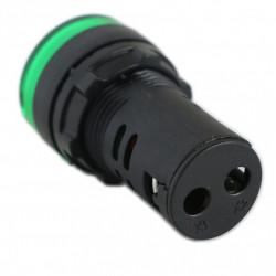 Signalna sijalica 12VDC 22mm zelena