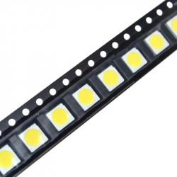 SMD LED dioda 5050 bela