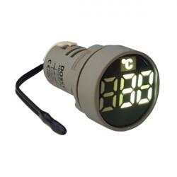 LED termometar AD22-22TM beli