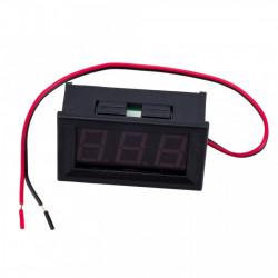 LED voltmetar 4.5-30VDC plavi
