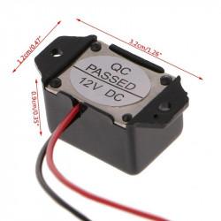 Piezo buzer 12VDC 85dB