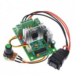 Regulator brzine DC motora 5A sa preklopnikol