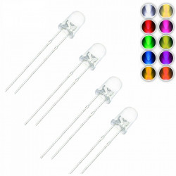 Set LED dioda 3mm (10 boja)-100 komada