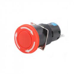 Sigurnosni (pečurka) taster za mašine 16mm