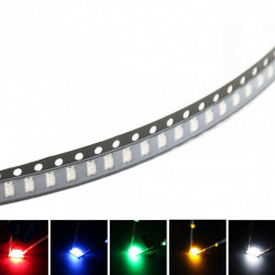 SMD LED dioda 1206 bela