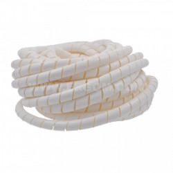 Spiralni bužir 10mm beli