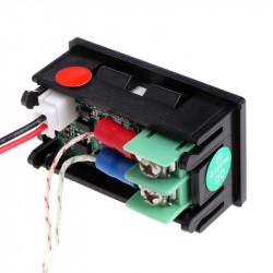 Digitalni LED termometar K tip sonde crveni