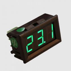 Digitalni LED termometar K tip sonde zeleni