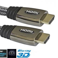 Kabl HDMI muško-muški metalna glava 10m