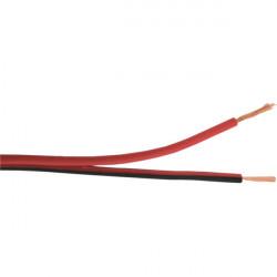 Kabl za zvučnike 2x1.5mm2 crno-crveni