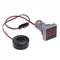 LED ampermetar 0-100A 22mm crveni AD101-22AMS