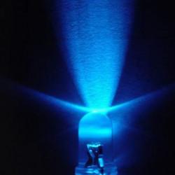 LED dioda 5mm plava ultra bright-100 komada