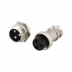 Set metalnih konektora 3 pina