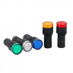 Signalna sijalica 230VAC 16mm žuta