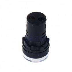 Signalna sijalica 230VAC 22mm bela