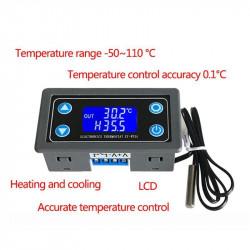 Temperaturni kontroler sa LCD displejom ugradni