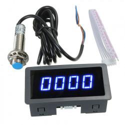 Ugradni tahometar sa LED displejom plavi