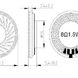 Zvučnik PSR-28N08A-MQ