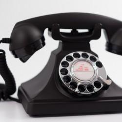Telefone GPO 200 Black