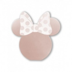 Power Bank Disney Minnie Mirror 3D 5000mAh - Rosegold