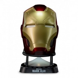 Coluna Mini Bluetooth Iron Man Red
