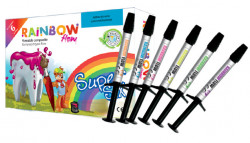 Rainbow Flow Super Six compozit colorat