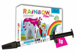 Rainbow Flow compozit colorat