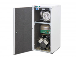 Compresor cu 2 pompe de vacuum EKOM DUO 2 /M (CU USCATOR)