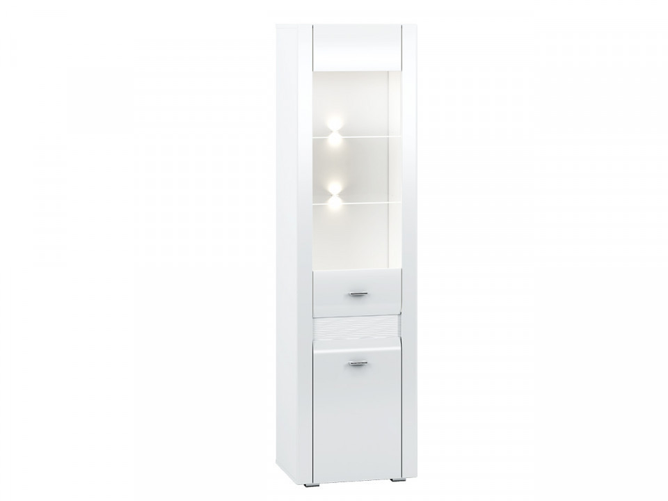 Arko 03 (Vitrina) White/White High Gloss