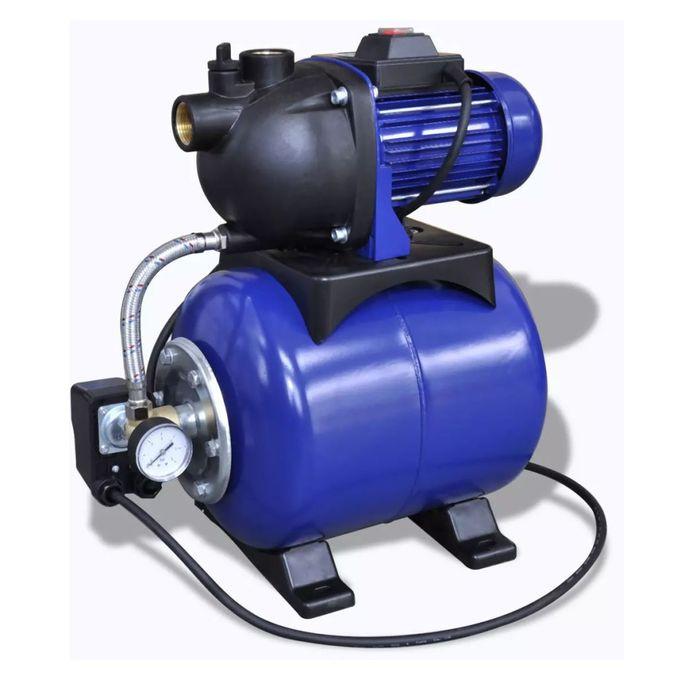 Pompa Electrica Gradina Albastru Poza