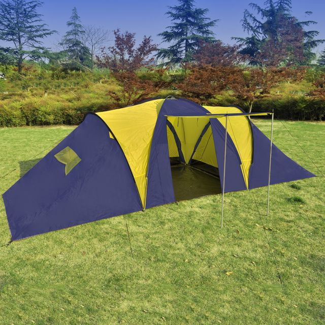 Cort Camping Albastru Galben - 16941
