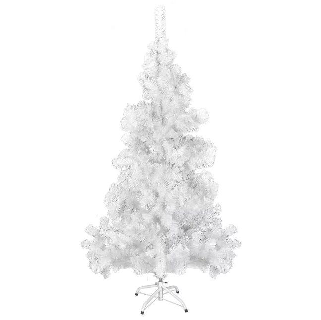 Brad de Crăciun artificial cu stativ din plastic 150 cm 380 ramuri