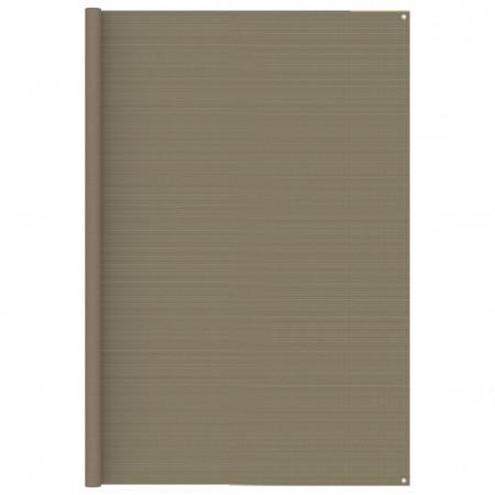 Covor pentru cort, gri taupe, 250x600 cm
