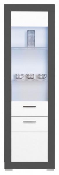 Gray gr-7 white mat-graphite vitrina