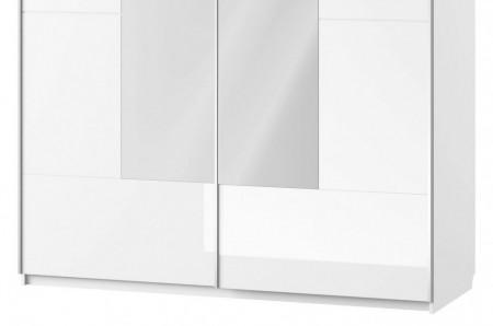 Selene 30 (dulap 2d) white high gloss/white