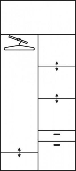 Aleksander 1 (Dulap Without Oglinda) Alder