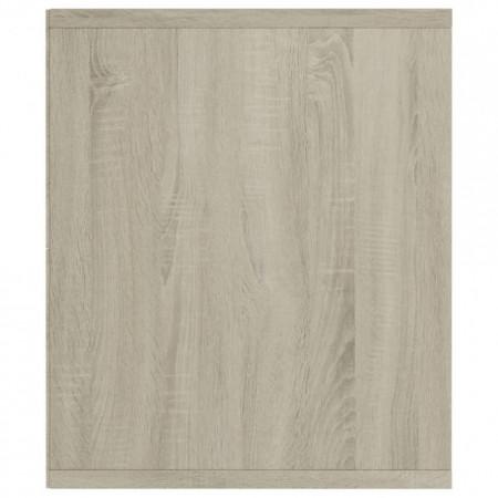 Bibliotecă/Comodă TV, stejar Sonoma, 143 x 30 x 36 cm