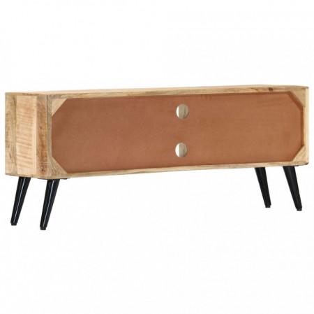 Comodă TV, 115x30x47 cm, lemn masiv de mango