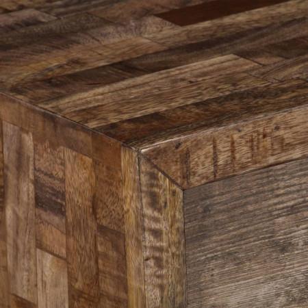 Comodă TV, 118x30x40 cm, lemn masiv de mango