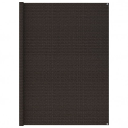 Covor pentru cort, maro, 250x250 cm
