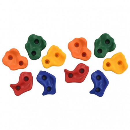 Pietre de cățărare 10 buc. PE multicolor