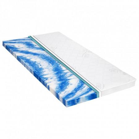 Topper saltea, spumă gel, 7 cm, 90 x 200 cm
