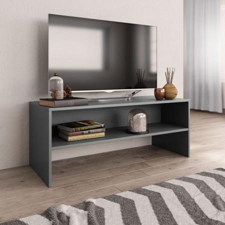 Comodă TV, gri, 100 x 40 x 40 cm, PAL